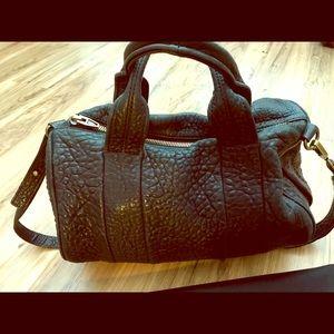 Alexander Wang Black Leather Rocco Bag